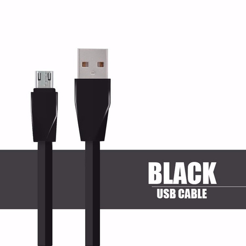cables micro usb 3 a carga turbo power de alta potencia