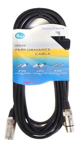cables para micrófono cannon-cannon 6 metros blindado