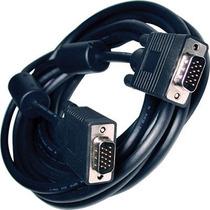 Cable De Monitor Super Vga 5 Metros 15 Pines Macho Filtro