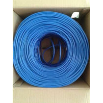 Bobina Cable Utp Cat6 70% Cca 305mts Red Rj45 Internet