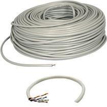 Bobina Cable Utp Cat 5e 100 Mts Cctv Red Seguridad Lan Rj45