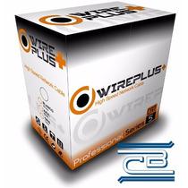 - Cable Utp Cat5e - Wireplus - 305mts (testeado)