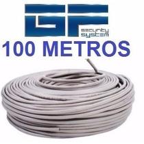 Cable Utp Cat 5e 100 Metros Marca Netvision 360 Testeado