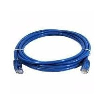 Cable Patch Cord Utp Rj45 1 Mts (3 Feet) Cat 5, Azul Quest