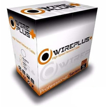 Cable Utp Cat5e 100 Metros Marca Wireplus. Cable Redes.