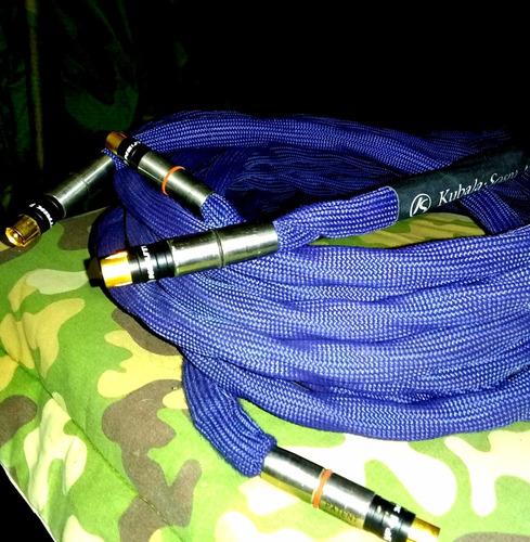 cables super high end kubala sosna emotion. mejor q' nordost