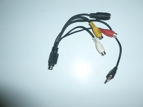 cables super video plus audio rca hembra