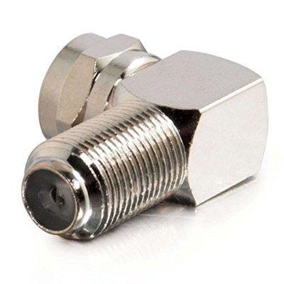 cables to go 40669 adaptador de ángulo recto de tipo f (plat