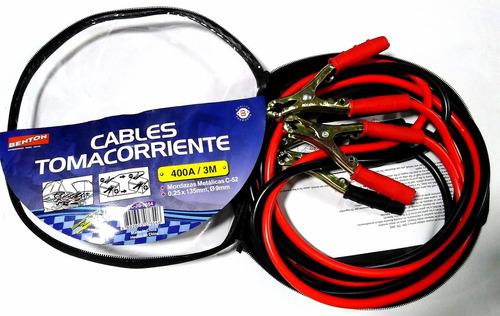 cables toma corriente 400 a 3mts facturable