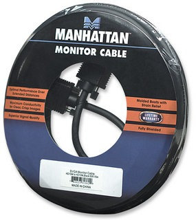 cables vga manhattan de 15 metros macho a macho