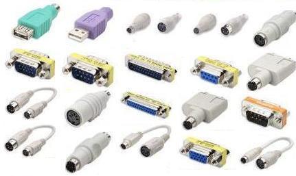 cables y adaptadores y conectores, convertidores