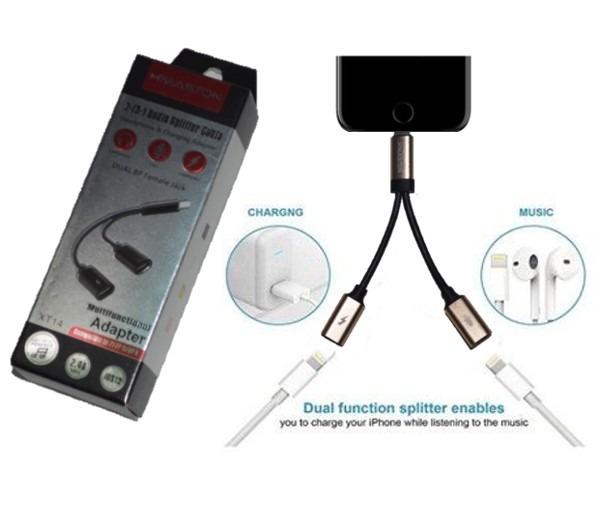 4dac377da90 Cabo Adaptador De Fone Carregador iPhone 7, 8 Plus Xr Xs Max - R$ 34,89 em  Mercado Livre