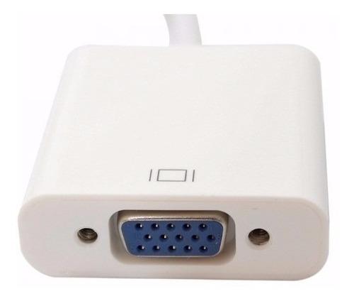 cabo adaptador hdmi p/ vga tv notebook ps3 xbox360 oferta.