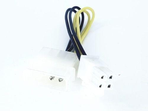 cabo adaptador ide para 4 pinos vídeo placa mãe novo 17,5cm