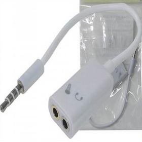 Cabo Adaptador P3 P2 Combo Para Fone  Microfone Headset 9592