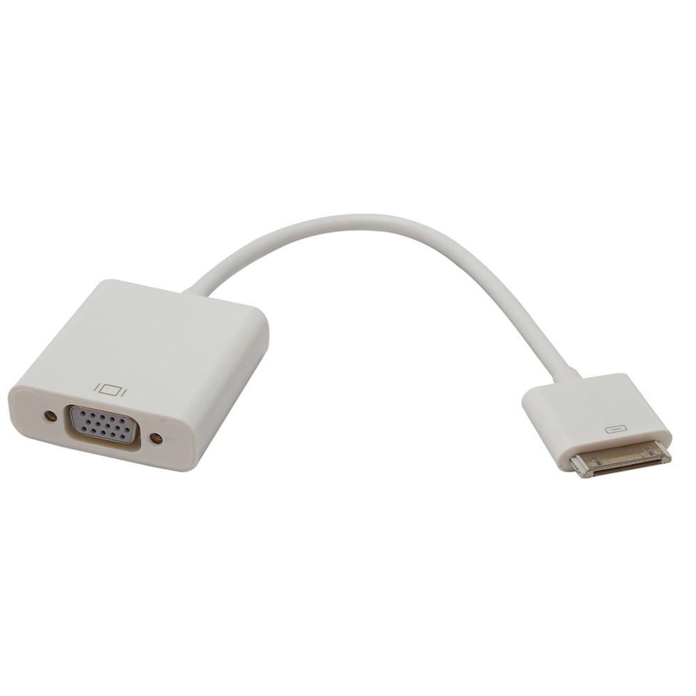 f6382e438f3 Cabo Adaptador Vga P/ iPhone / iPad / iPod 30 Pinos L313ls - R$ 33 ...