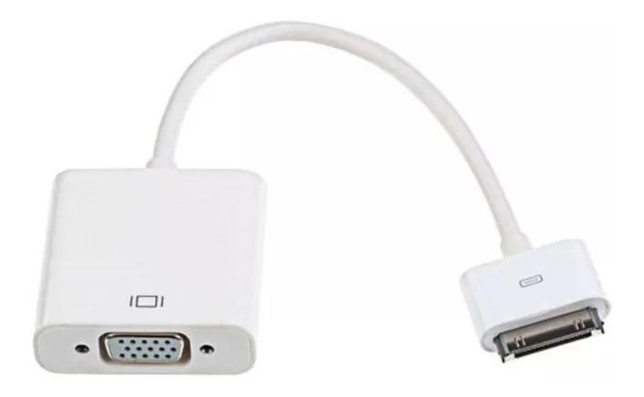 c69b70c73e9 Cabo Adaptador Vga P/ iPhone / iPad / iPod 30 Pinos Mymax Nf - R$ 57,90 em  Mercado Livre