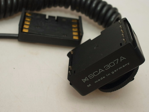 cabo adapter sca 307a flash metz sca 300, 3000 & 3002