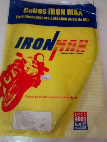 cabo afogador cb200 strada iron max marcio motos