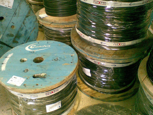 cabo alumínio multiplex triplex 3x10mm - rolo com 50 metros