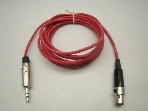 cabo áudio mini xlr fêmea x mini xlr fêmea 2m mogamiamphenol