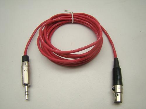 cabo áudio mini xlr fêmea x xlr macho 40 cm  mogami amph.2pç