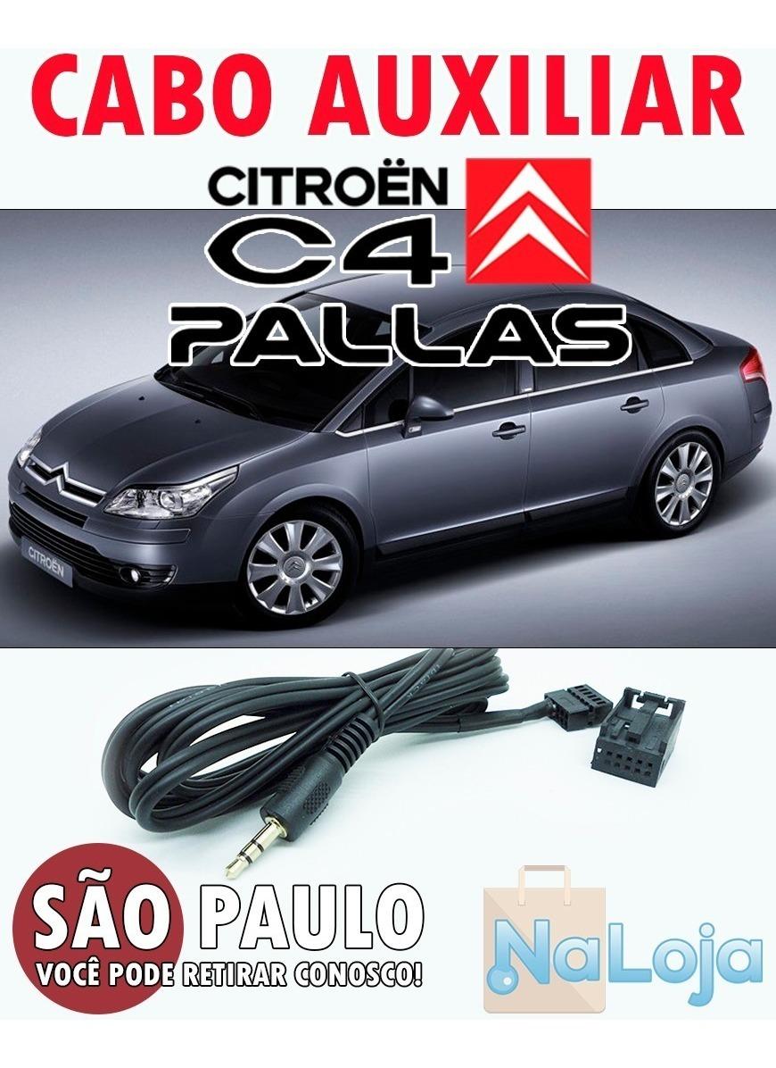 Cabo Auxiliar Citroen C4 Pallas Rd4 + Bluetooth