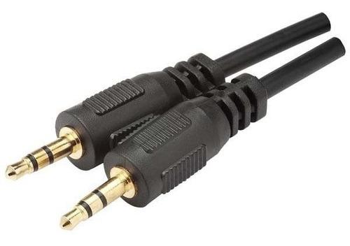 cabo auxiliar universal p2 + p2  mxt 3 metros dourado