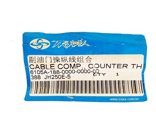cabo b do acelerador traxx shark 250 original