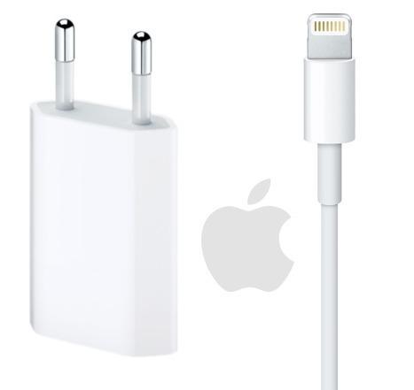 fdf3a596bdd Cabo + Carregador iPhone 5 5s 5c 6s 6 7 Plus Apple Original - R$ 81,90 em  Mercado Livre