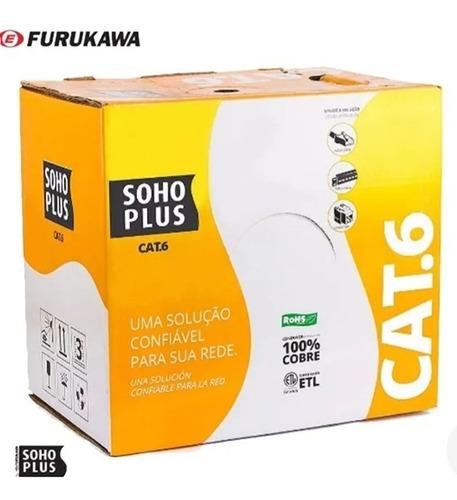 cabo cat.6 furukawa 100% cobre