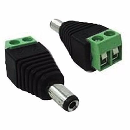 cabo cftv 4mm bipolar 400m c/16 conector bnc e16 p4  m40c32c