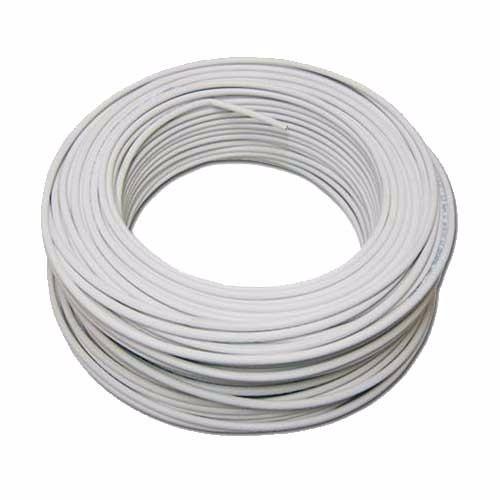 cabo coaxial anatel 100 mt rg6 95% malha blindado int ou ext