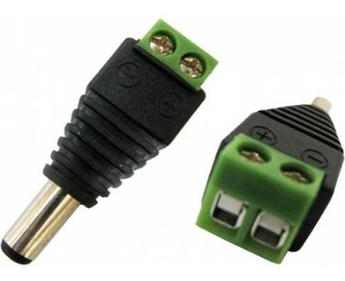 cabo coaxial  cftv 50 mts c./ conectores bnc, p4 s5pb20
