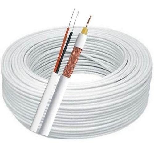 cabo coaxial trançado flexível multitoc 4mm - pronta entrega