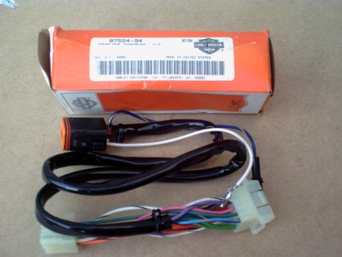 cabo conector adaptador radio interface hd harley davidson