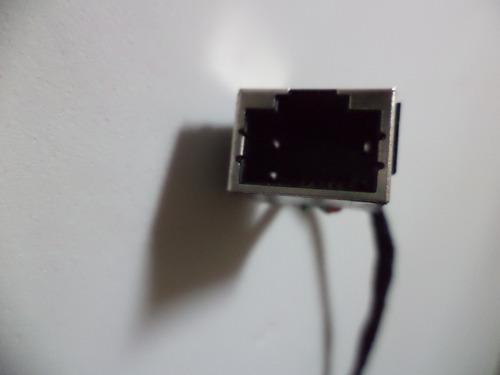 cabo conector rj45 netbook asus eeepc 1201t
