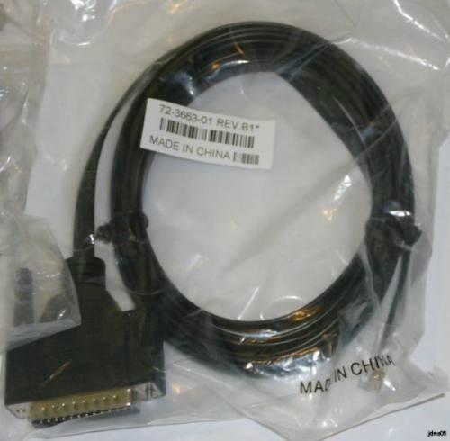 cabo console serial db9 x rj 45 cisco / 3com