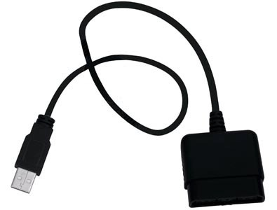 cabo coversor clone usb x playstation 55cm - nota fiscal