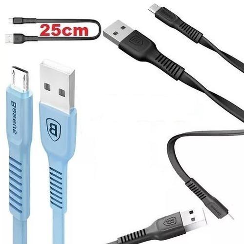 cabo dados micro usb v8 25cm carga dados (frete grátis)