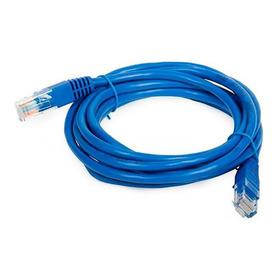 Cabo De  Rede Rj45 P/ Internet Rede Adsl 30 Metros  Azul
