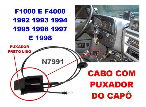 cabo de abertura do capo f1000/f4000 94 95 97 98 c/maçaneta