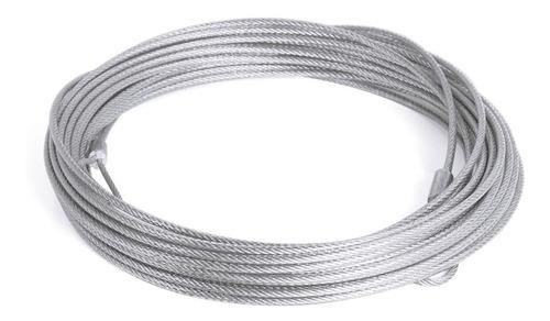 cabo de aço para rede de tênis oficial - plastificado