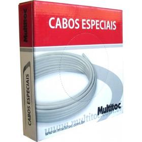 Cabo De Alarme 2 Vias Multitoc Rolo 100 Metros