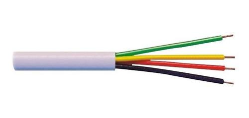 cabo de alarme 4 vias 0,40mm megatron cobre estanhado