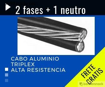 cabo de aluminio triplex 50 milimetros