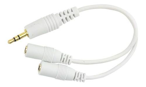 cabo de áudio y p2 estéreo para 2 j2 mono kokay - 15cm