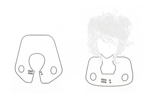 cabo de cuello de silicona de corte o tinte de pelo
