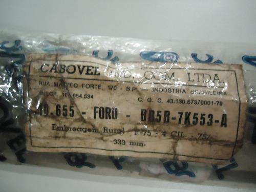 cabo de embreagem ford f-75