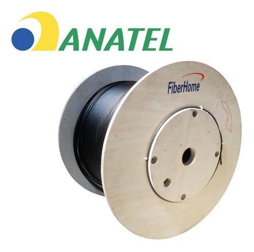 cabo de fibra optica 36 fibras 4km fiber home cfoa-sm-as80-s